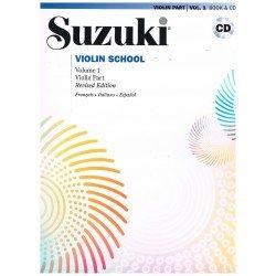 Suzuki Violin School Vol.1 (Violin Part) Revised Edition +CD