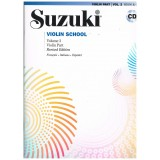 Suzuki Violin School Vol.2 (Violin Part) Revised Edition +CD