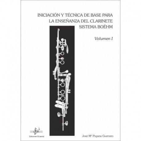 Puyana, Jose Iniciación y Técnica de Base Sistema Boehm Vol.1