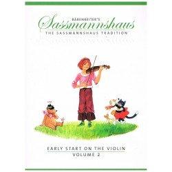 Sassmannhaus. Iniciación al Violín Vol.2