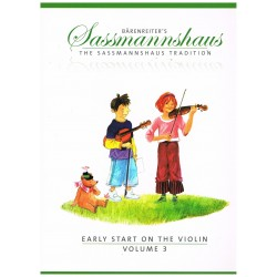 Sassmannhaus. Iniciación al Violín Vol.3