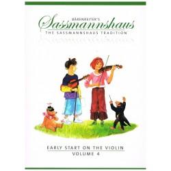 Sassmannhaus. Iniciación al Violín Vol.4