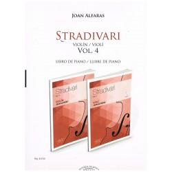 Alfarás. Stradivari Vol.4 (Violín con Piano)