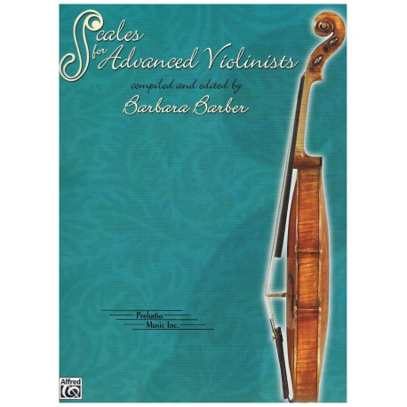 Barber, Bárbara. Scales for Advanced Violinists