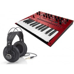 Korg MONOLOGUE RED + AURIC. SAMSON SR850