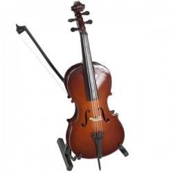 Mini violonchelo 15 cms dd011