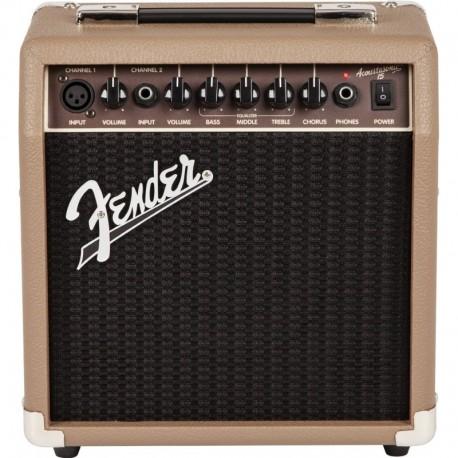 Amplificador para guitarra acústica Fender Acoustasonic 15