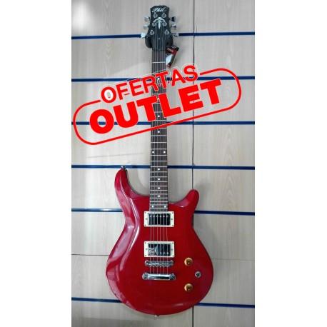 Guitarra eléctrica Phil Pro PRS Red