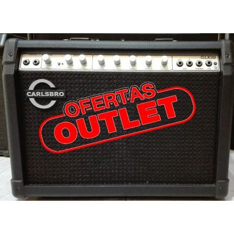 Amplificador combo a transistores para guitarra eléctrica Carlsbro GLX30
