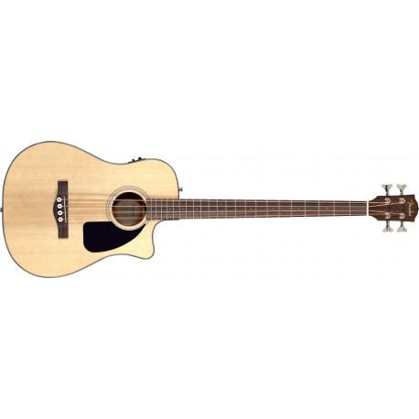 Bajo electroacústico Fender CB-100CE NAT Bass