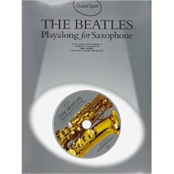 The Beatles Guest Spot Play Along (Saxo Alto) +CD