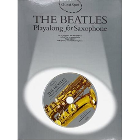 The Beatles Guest Spot Play Along (Saxo Alto) +CD