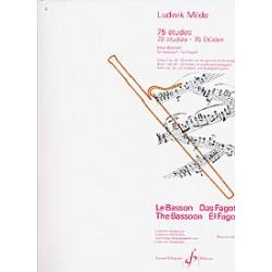 Milde. Estudios Vol.1 Escalas y Arpegios Op.24 para Fagot