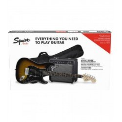 SQUIER AFFINITY SERIE STRATOCASTER® HSS PACK
