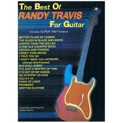 RANDY TRAVIS - THE BEST OF RANDY TRAVIS FOR GUITAR