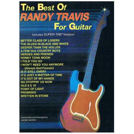 RANDY TRAVIS - THE BEST OF RANDY TRAVIS FOR GUITAR