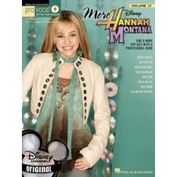 HANNAH MONTANA. MORE V.37 +CD PRO VOCAL. HAL LEONARD