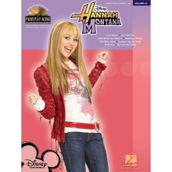 HANNAH MONTANA. 8 PLAY GREAT SONGS HIT TV SERIES +CD (PVG)