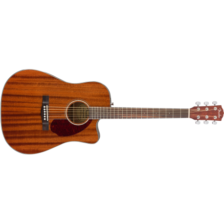 Fender CD-140SCE Dreadnought, Walnut Fingerboard, All-Mahogany w/Case