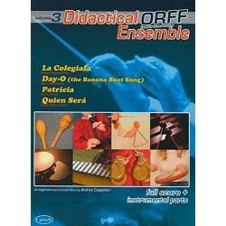 ORFF  - LIBRO DIDACTICAL ENSEMBLE.V.3
