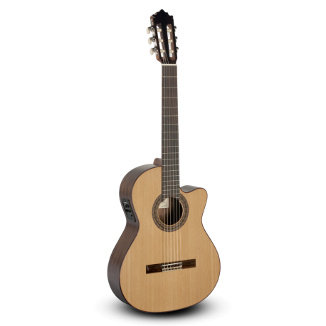 Guitarra clásica amplificada Paco Castillo 222CE