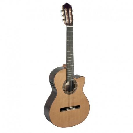 Guitarra clásica amplificada Paco Castillo 224CE