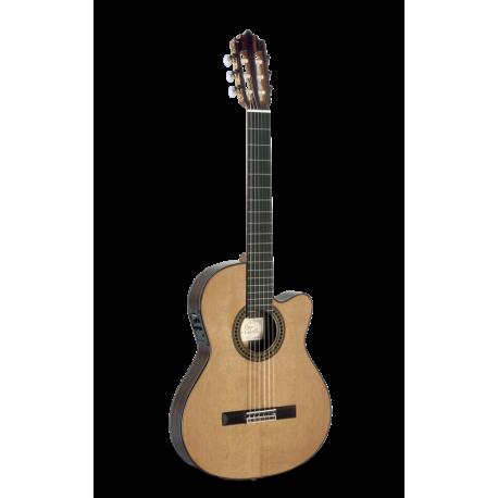 Guitarra clásica amplificada Paco Castillo 234TE