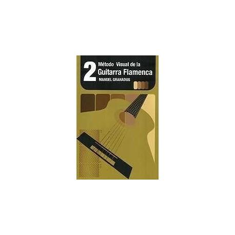 Granados, Manuel. Metodo Visual de Guitarra Flamenca Vol.2. DVD. Ventilador Music