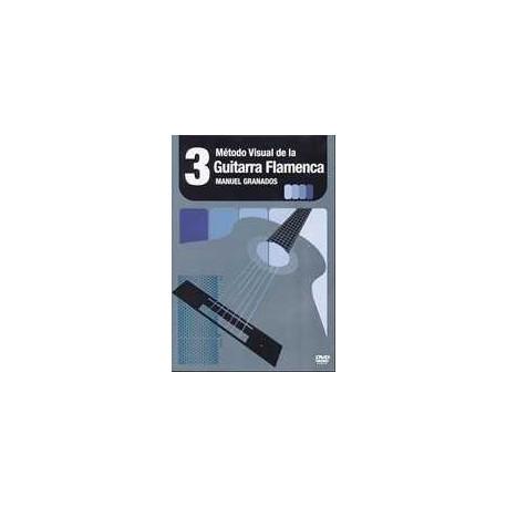 Granados, Manuel. Metodo Visual de Guitarra Flamenca Vol.3. DVD. Ventilador Music
