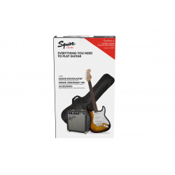 Squier Stratocaster® Pack,...