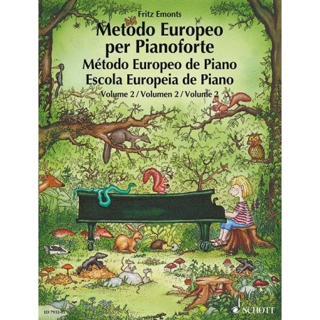 Emonts. Método Europeo para Piano Vol.2. Schott