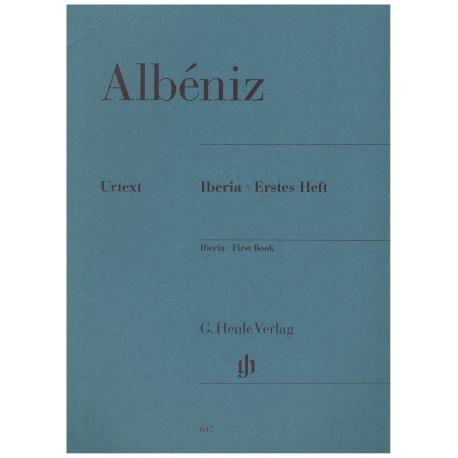 Albéniz, Isaac. Iberia Vol.1 (Piano). Henle Verlag