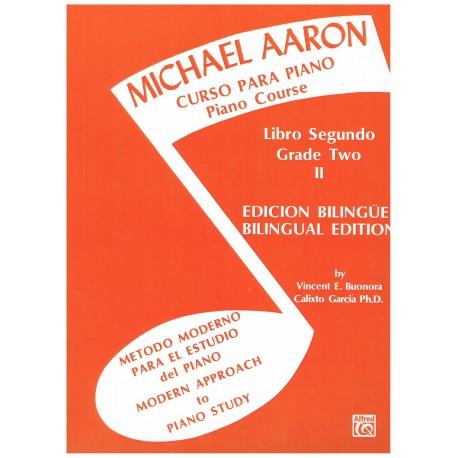 Aaron, Michael. Curso Para Piano Libro II. Alfred Publishing