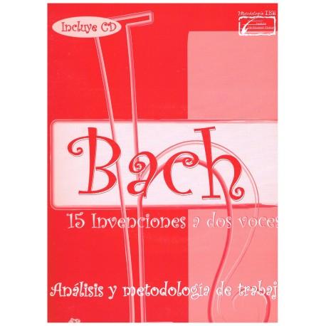 Bach, J.S. 15 Invenciones a dos Voces. Análisis y Metodología de Trabajo