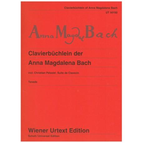 Bach, Anna Magdalena. Album de Anna Magdalena Bach (Piano)