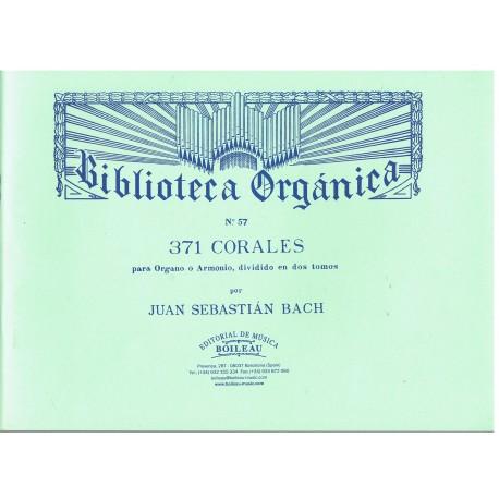 Bach, J.S. 371 Corales Para Organo Vol.1. Boileau