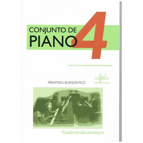 Buendía Picó. Conjunto de Piano 4. Cuaderno del Alumno