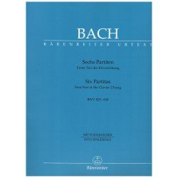 Bach, J.S. 6 Partitas BWV...