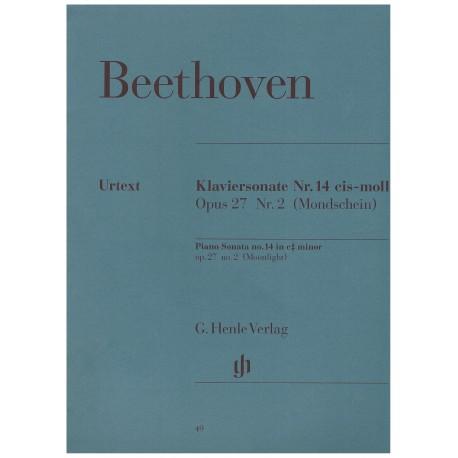Beethoven. Sonata nº14 Op.27/2 Claro de Luna (Piano)