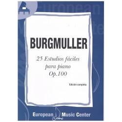 Burgmuller. 25 Estudios...