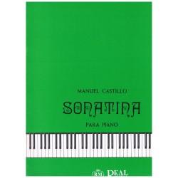 Castillo, Manuel. Sonatina...