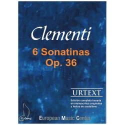 Clementi. 6 Sonatinas Op.36...