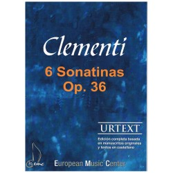 Clementi. 6 Sonatinas Op.36...