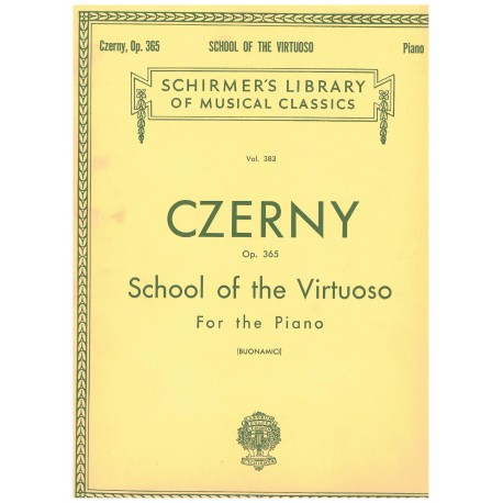 Czerny. School of the Virtuoso for the Piano Op.365