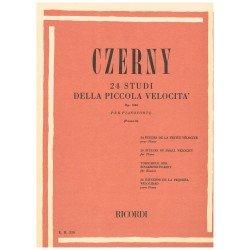 Czerny. 24 Estudios de la...