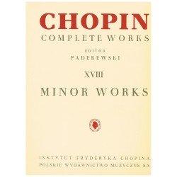 Chopin. Obras Menores para...