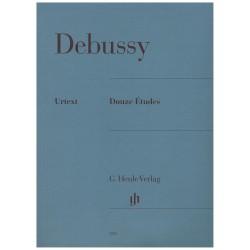Debussy. 12 Estudios...