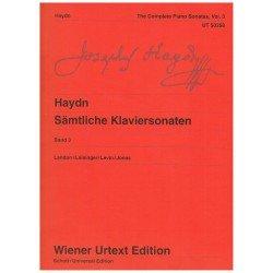 Haydn. Sonatas para Piano...