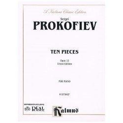 Prokofieff. 10 Piezas para...