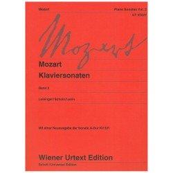 Mozart. Sonatas para Piano...